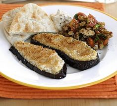 Try something new with aubergines and make them the main part of your meal with this veggie dish