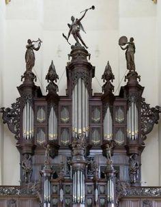 Schnitgerorgel Der Aakerk |  Groningen