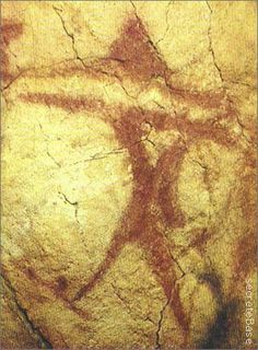 Altamira Cave - Spain We see graffiti whose shape evokes the UFO described by these witnesses.