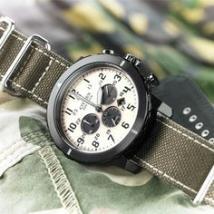 Spring forward with the CITIZEN Military Chronograph!