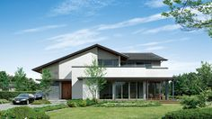 house House 2, Ranch, Villa, Exterior, Cabin, House Design, Country, Architecture, House Styles