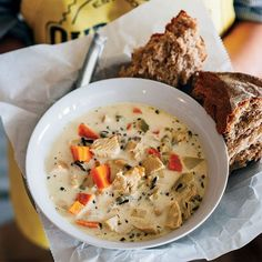 Chicken and Wild Rice Soup  - Delish.com