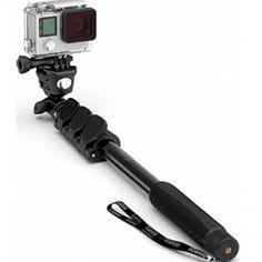 Professional GoPro Monopod, Waterproof Selfie Stick For Go Pro Hero Best Selfies, Cool Guns, Selfie Stick, Gopro, Outdoor Power Equipment, Sticks, Europe, Electronics, Youtube
