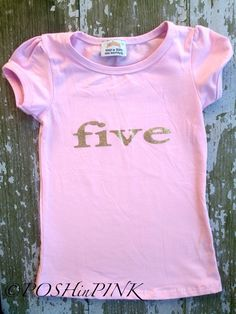 A personal favorite from my Etsy shop https://www.etsy.com/listing/277500742/birthday-toddler-girls-pink-and-gold