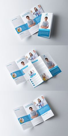 Medical Trifold Brochure Template