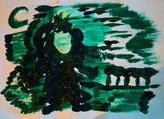 Kesä son kypsyny   taidelaronia Moose Art, Animals, Painting, Animales, Animaux, Painting Art, Paintings, Animais, Animal