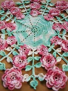 PDF Crochet Pattern More Vintage Floral Doilies Five image 3 Crochet Doily Patterns, Thread Crochet, Crochet Motif, Crochet Shawl, Crochet Doilies, Crochet Flowers, Irish Crochet, Crochet Home, Love Crochet
