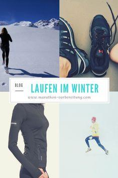 Im Sommer kann so ziemlich jeder einfach mal die Laufschuhe überziehen und eine Runde durch den Park laufen, im Winter aber trennt sich die Spreu vom Weizen. Dann sind nur noch die wirklich ambitionierten Läufer zu sehen, dabei lohnt sich das Laufen im Winter gleich doppelt. Marathon Training, Laufen Im Winter, Jogger, Fitness Tips, Fancy, Running, Workout, Park, How To Wear