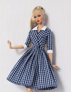 Sewing Barbie Clothes, Doll Clothes Patterns, Clothing Patterns, Dressy Dresses, Lace Dresses, Club Dresses, Barbie Vintage, Barbie Wardrobe, Barbie Basics