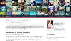 Web design inspiration: banner looks like an instagram stream / colorful / clean / transparency / blog |Noel Tock