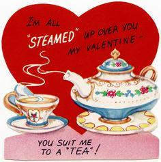 """Vintage Valentine - You Suit Me to a """"Tea"""""""