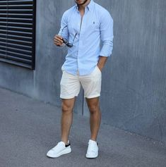 Summer Outfits Men, Stylish Mens Outfits, Derby Outfits, Summer Men, Men's Summer Clothes, Stylish Clothes For Men, Men Summer Style, Outfits For Men, Men Clothes