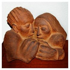 Less - Clay Sculpture