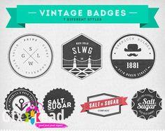 Insignias Vintage Badges PSD Template » Gfxhead - Download Graphics Sounds Vectors Tutorials Scripts Movies
