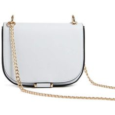 Forever21 Faux Leather Crossbody ($23) ❤ liked on Polyvore featuring bags, handbags, shoulder bags, light blue, chain strap purse, forever 21 purses, crossbody shoulder bag, light blue crossbody purse and faux leather crossbody