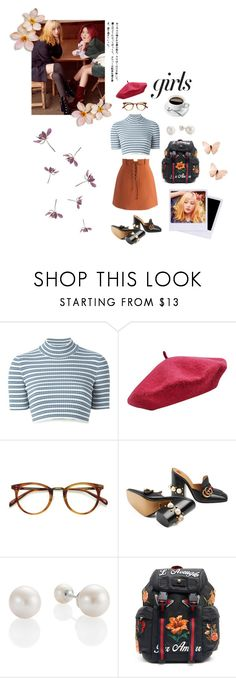 """Girls"" by alva01 on Polyvore featuring Alessandra Rich, Chicwish, M&Co, EyeBuyDirect.com and Gucci"