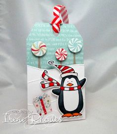 Dr Seuss Penguin by DandI93 - Cards and Paper Crafts at Splitcoaststampers
