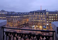 Despierta con esta vista... Paris Marriott Hotel Champs-Elysees en Francia #PrivilegioMarriott #France