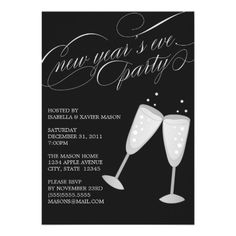 5 x 7 New Years Eve | Party Invite