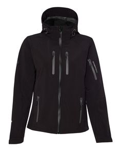 Black And Granite Ladies H2Xtreme Expedition Soft Shell From Stormtech - XB-2W
