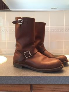 Red Wing Engineer Boots 10.5  #RedWing #Motorcycle