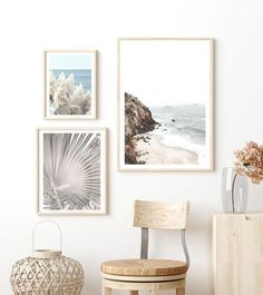 Pampas by the Sea Print Wall Art for Sale – Milk n Honey Designs Design Art, Print Design, Timber Mouldings, Wall Art Prints, Framed Prints, Wall Art For Sale, Photography For Sale, The Great Outdoors, Honey