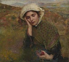 The Convalescent 1929 - Annie Swynnerton - (British: 1844-1933)