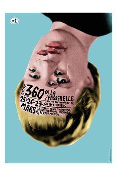 Festival 360° 2010 à St-Brieuc (Affiche Brest Brest Brest)