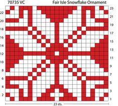 Fair Isle Snowflake