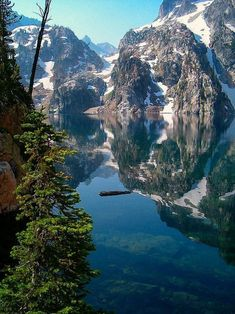 Goat Lake is an alpine lake in Custer County, Idaho, United States, located high in the Sawtooth Mountains in the Sawtooth National Recreation Area. The lake is approximately 6 miles km) southwest of Stanley. Places To Travel, Places To See, Beautiful World, Beautiful Places, Destination Voyage, All Nature, Amazing Nature, Parcs, Adventure Is Out There