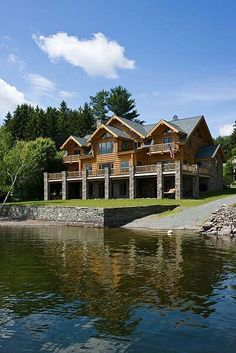 Log home Home sweet Home Pinterest Logs