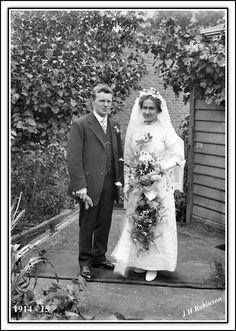 my grandmother and grand father robinson My Grandmother, My Family, Father, Weddings, Wedding Dresses, Fashion, Pai, Bride Dresses, Moda