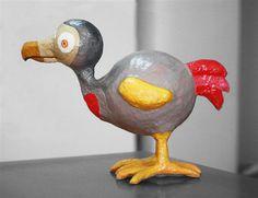 The DODO is back  /   papier mache dodo