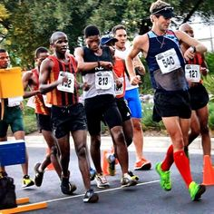 Throwback to National 20km Championships this year. Great race and experience after a 15 year break from competition.  My friend and coach  Marc Mundell  just got included for the National Team to compete at the Beijing World Champs(Leading the pack in the pic) .  #run #runner #running #fit #runtoinspire #furtherfasterstronger #seenonmyrun #runchat #runhappy #instagood #time2run #instafit #happyrunner #runners #photooftheday #fitness #workout #training #instarunner #instarun #workouttime…