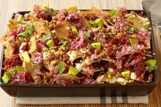 Una deliciosa y nutriente receta, fácil de hacer y que seguro encantará a los comensales que invites. ¡Nachos Mexicanos!