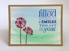 Watercolor Birthday Card - Floral Birthday Card - Birthday Card for Her - Wife Birthday Card - Friend Birthday Card - Flower Birthday Card