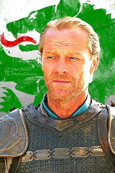 Jorah Mormont | Game of Thrones - by Hilary Heffron, Hilarious Delusions