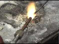 Making a 3-Stone Ring Part 1 - http://videos.silverjewelry.be/rings/making-a-3-stone-ring-part-1/