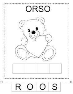 Flashcard, Learning Italian, Preschool Worksheets, Pre School, Montessori, Crafts For Kids, Teaching, Education, Alphabet