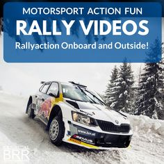 at: Baumschlager Rallye & Racing - Mitsubishi - Ralliart - Skoda Vw Polo R Wrc, Rally, Skoda Fabia, Sport, Videos, Fun, Autos, Vehicles, Deporte