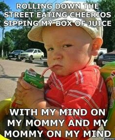 Funny Facebook Status: Mommy On The Mind Funny Facebook Quote