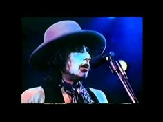"""Where black is the color, where none is the number""  A Hard Rain's A Gonna Fall - Rolling Thunder Revue - 1975"