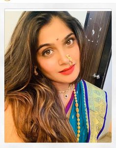 Image may contain: one or more people, selfie and closeup Close Up, Marathi Nath, Marathi Wedding, Celebration Gif, Selfie, Churidar, Latest Video, Indian Beauty, Girl Pictures