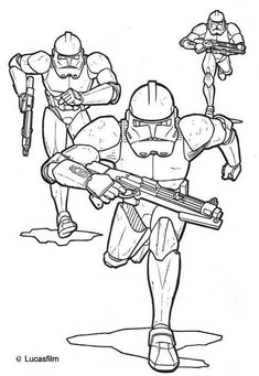 clone-wars-coloriage-gratuit