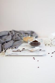Zutaten für Kaffee Peeling