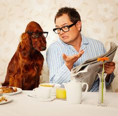 Alan Carr reveals secret to Adele's weight loss Cute Funny Animals, Funny Dogs, Chatty Man, Losing Faith In Humanity, Alan Carr, Irish English, Adele Weight, British Humor, Red Dog