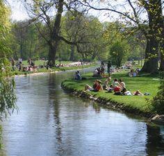 English Garden, Munich Englischer Garten