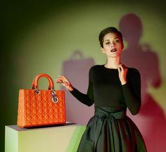Lady Dior I Spring Summer 2013 I starring Marion Cotillard I Photographer: Jean Baptiste Mondino.