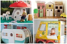 15 of the coolest indoor playhouses for kids from DIY to big splurges. Great way to keep them active even when the temperatures are frigid! | Cool Mom Picks