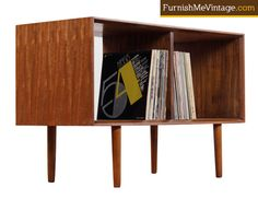 """Refinished mid-century modern console cabinet by Milo Baughman for Drexel's """"Perspective"""" line. Vintage 1950s, made in America. This is a modified unit."""